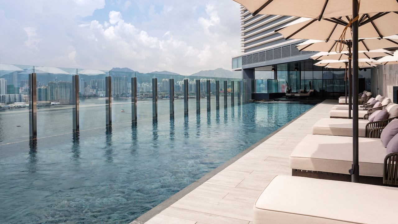 Hyatt Centric Victoria Harbour Hong Kong Outdoor Swimming Pool
