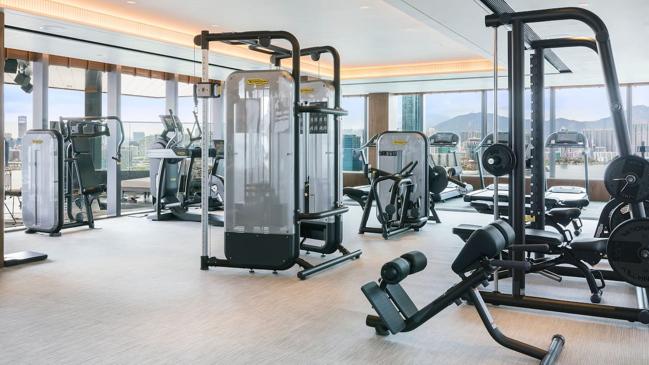 Hyatt Centric Victoria Harbour Fitness Center