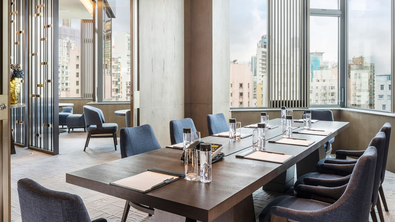 Hyatt Centric Victoria Harbour Club Boardroom