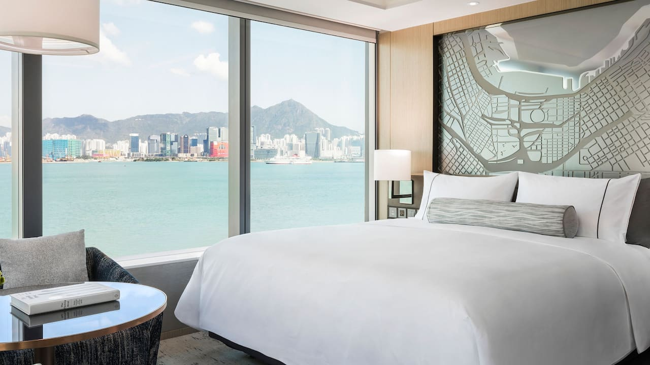 Hyatt Centric Victoria Harbour Hong Kong 1 King Bed with Victoria Harbour Lounge Access
