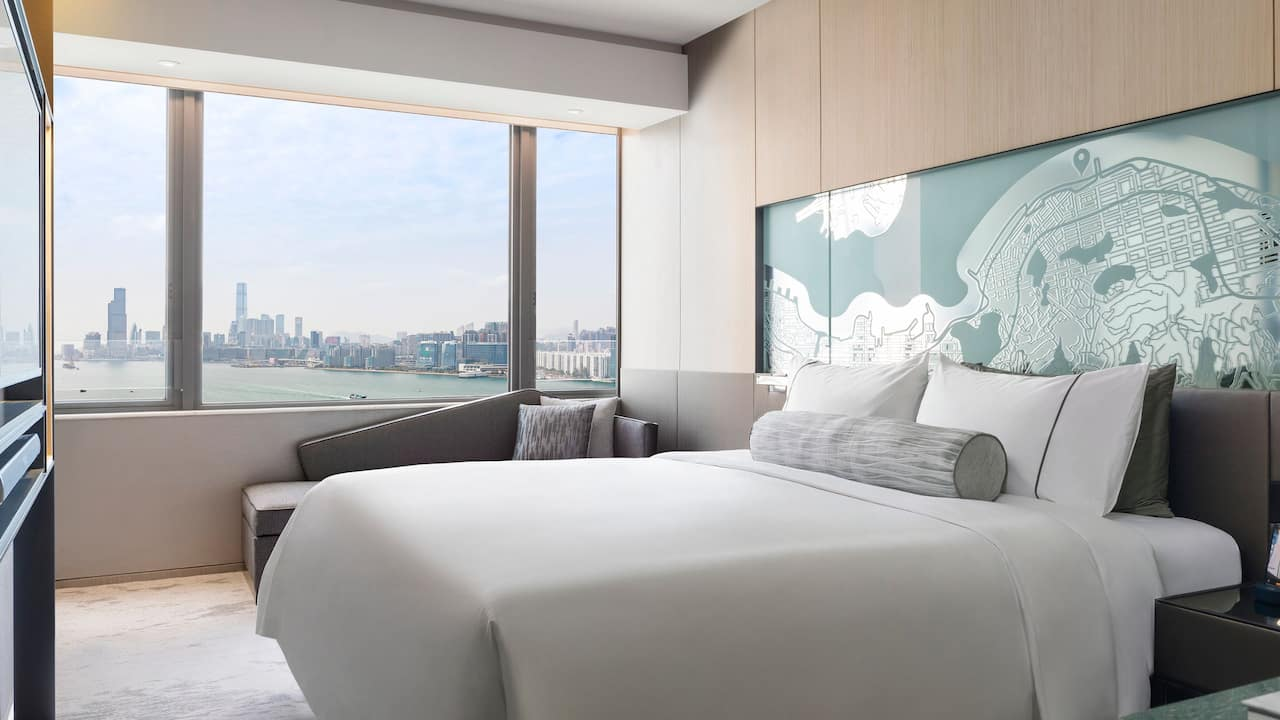 Hyatt Centric Victoria Harbour Hong Kong 1 King Bed Harbour View with Club Access
