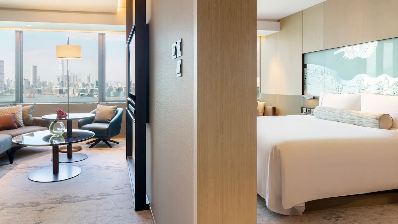 Hyatt Centric Victoria Harbour Hong Kong King Suite with 1 King Bed