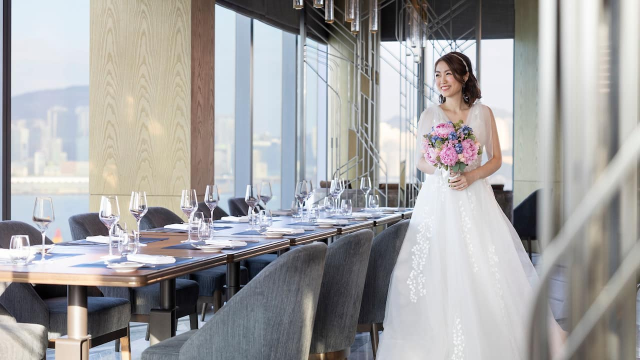 Hyatt Centric Victoria Harbour Cruise Wedding