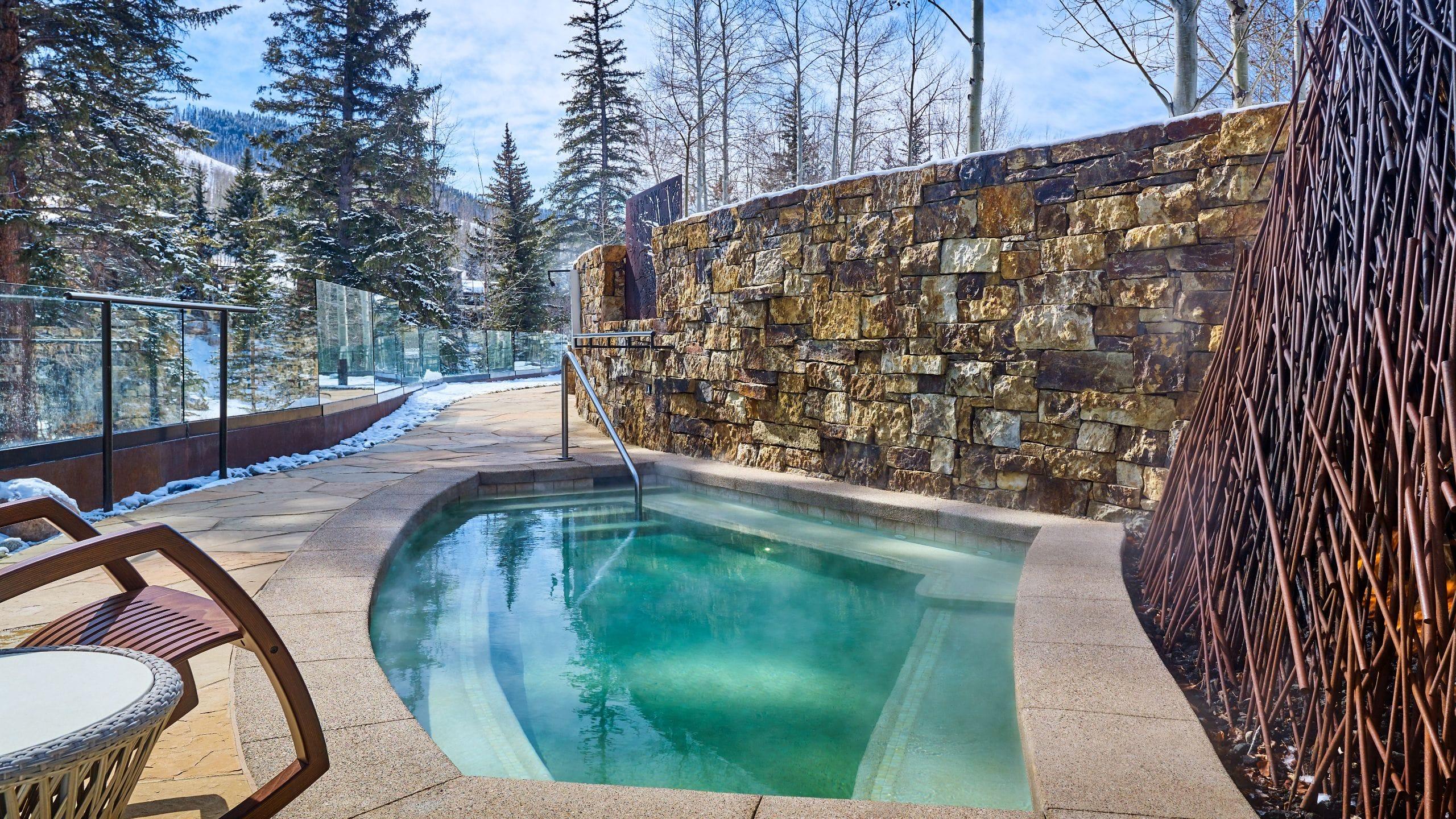 Grand Hyatt Vail Outdoor Hot Tub