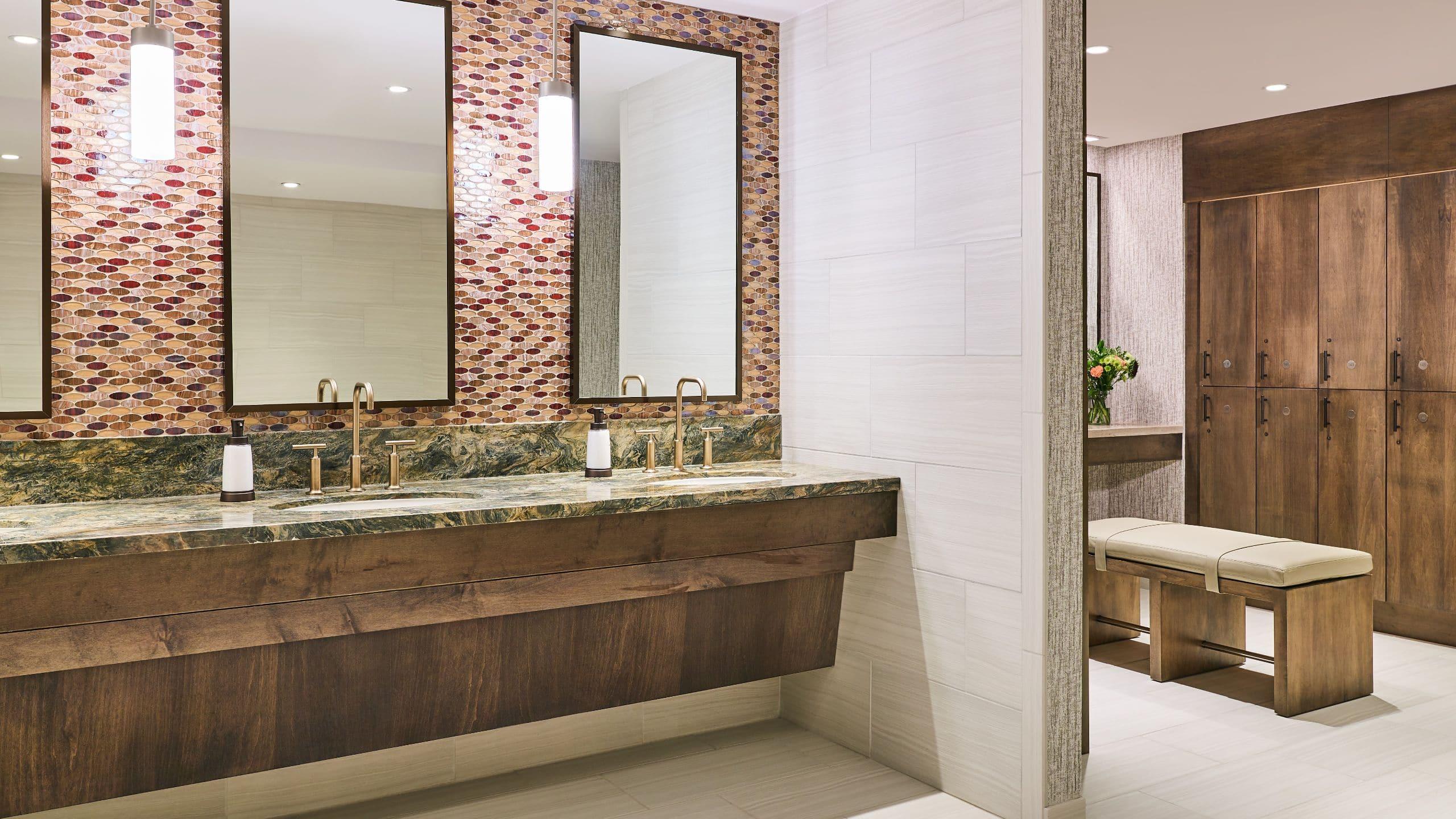 Grand Hyatt Vail Spa Locker Room