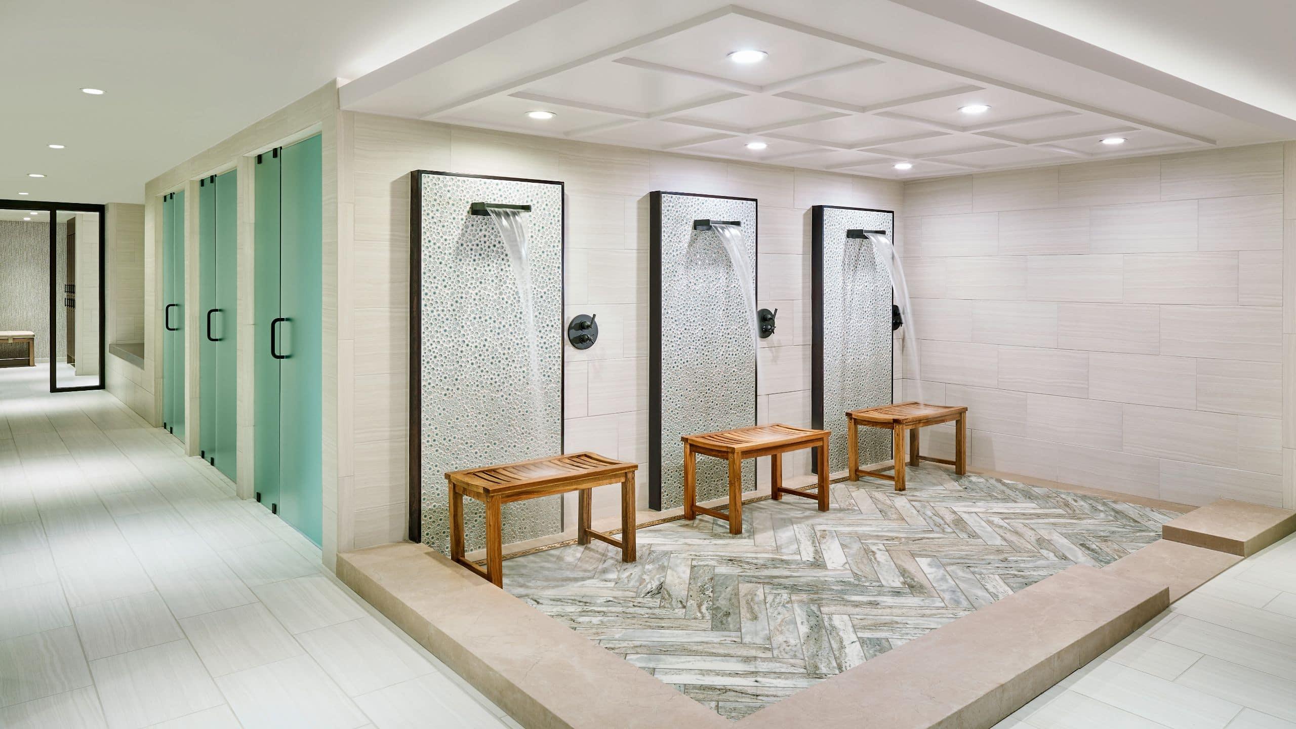 Grand Hyatt Vail Spa Showers