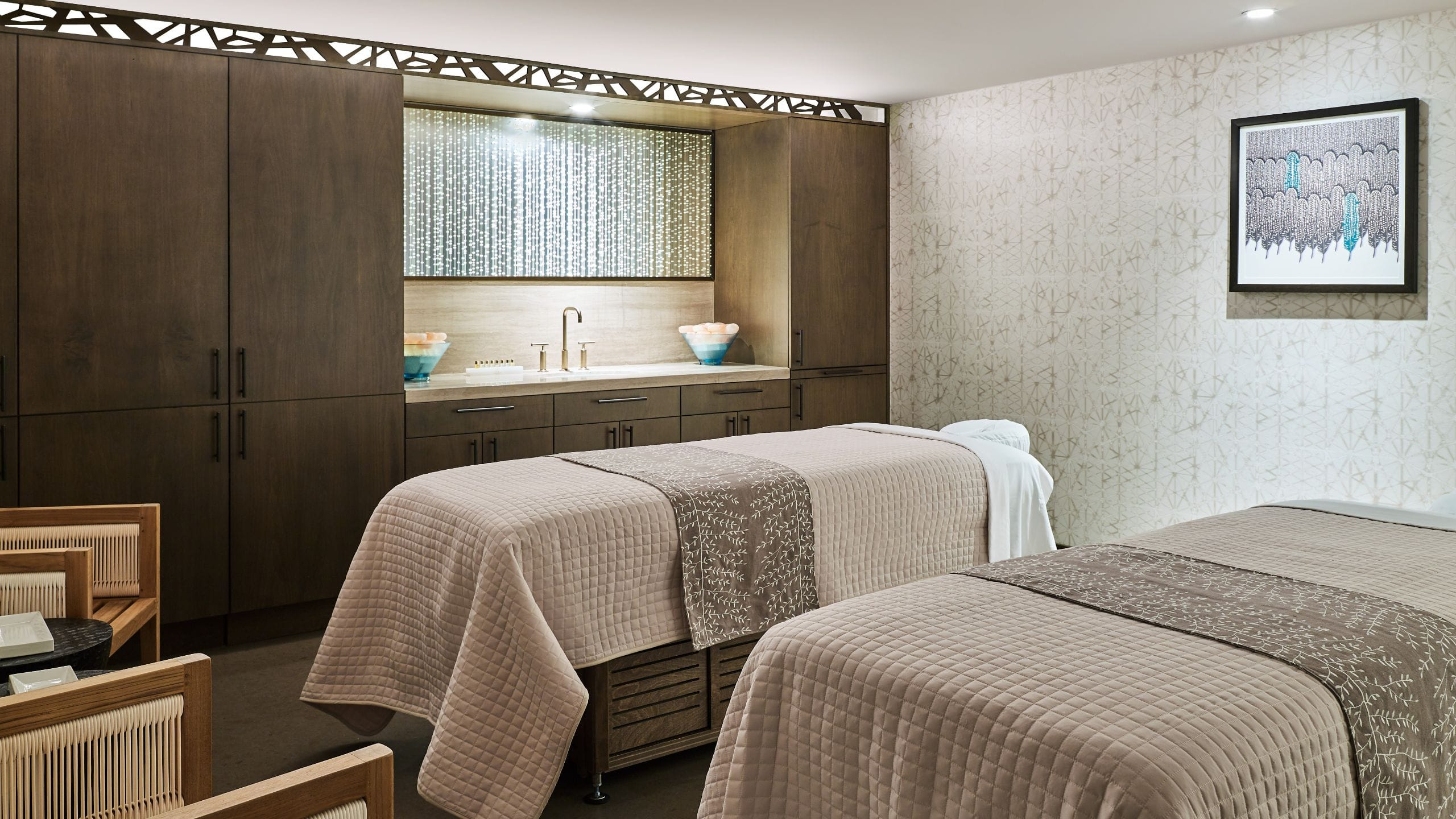 Grand Hyatt Vail Spa Double Treatment Room