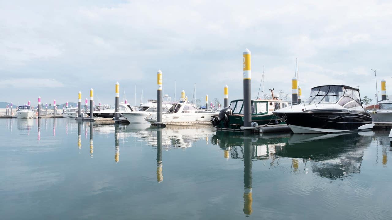 Wangsan Marina  Yacht