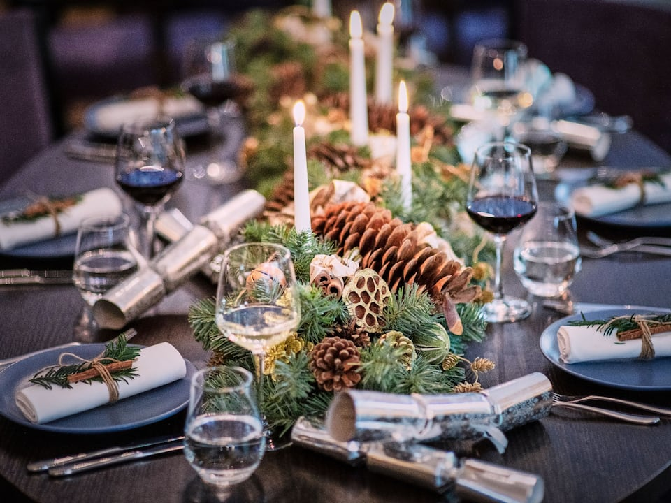 The Montagu Kitchen Festive Table