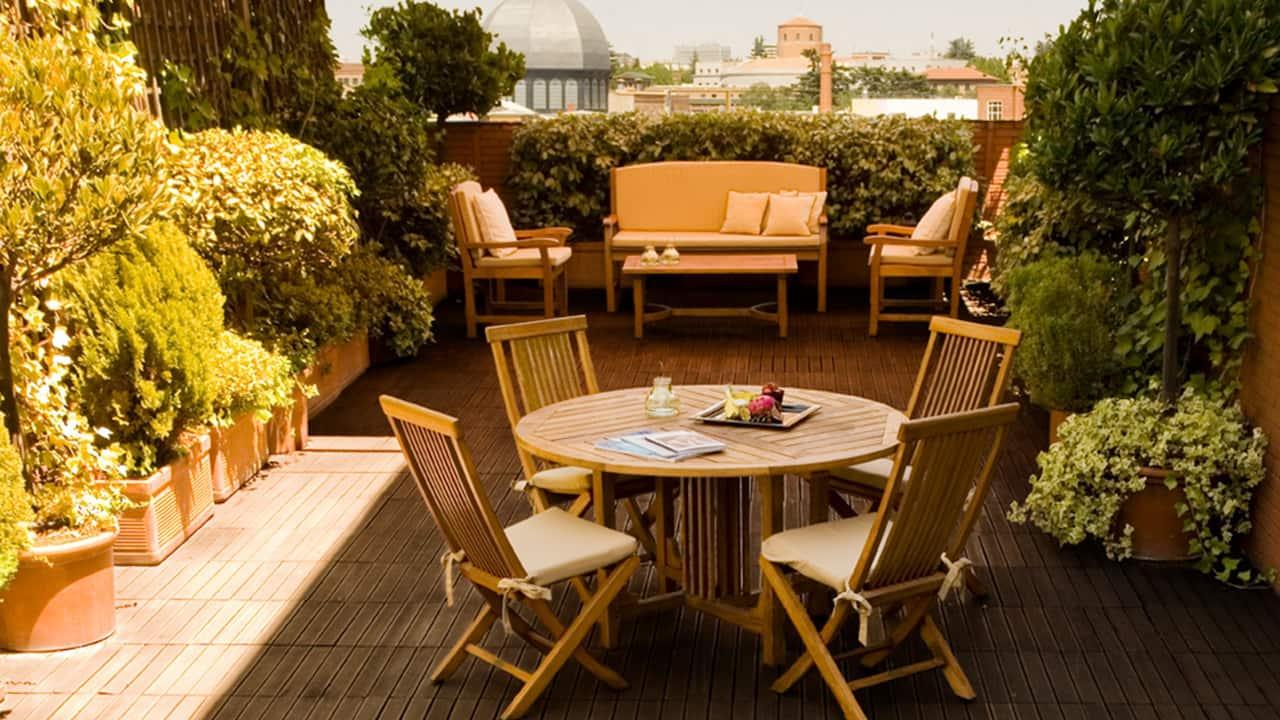 Hyatt Regency Hesperia Madrid Presidential Suite Terrace