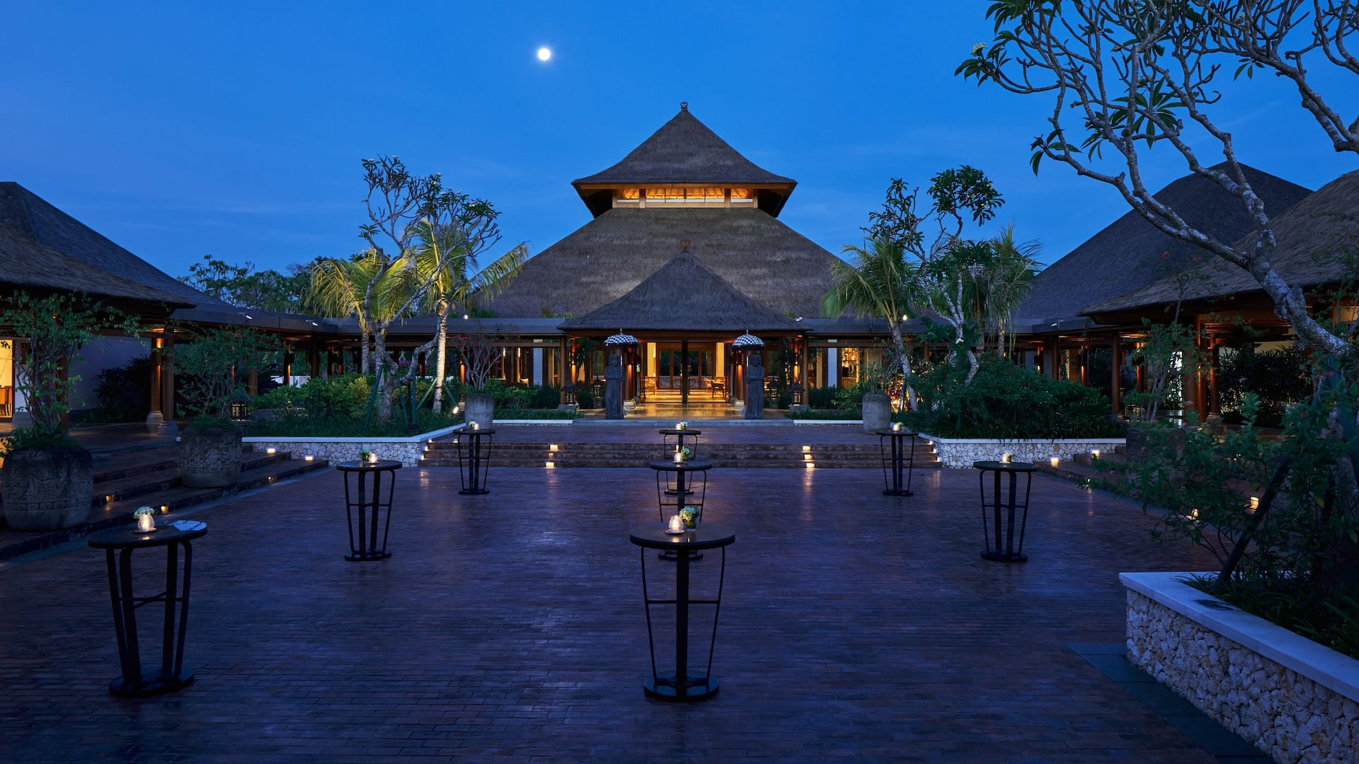 Courtyard at Hyatt Regency Bali
