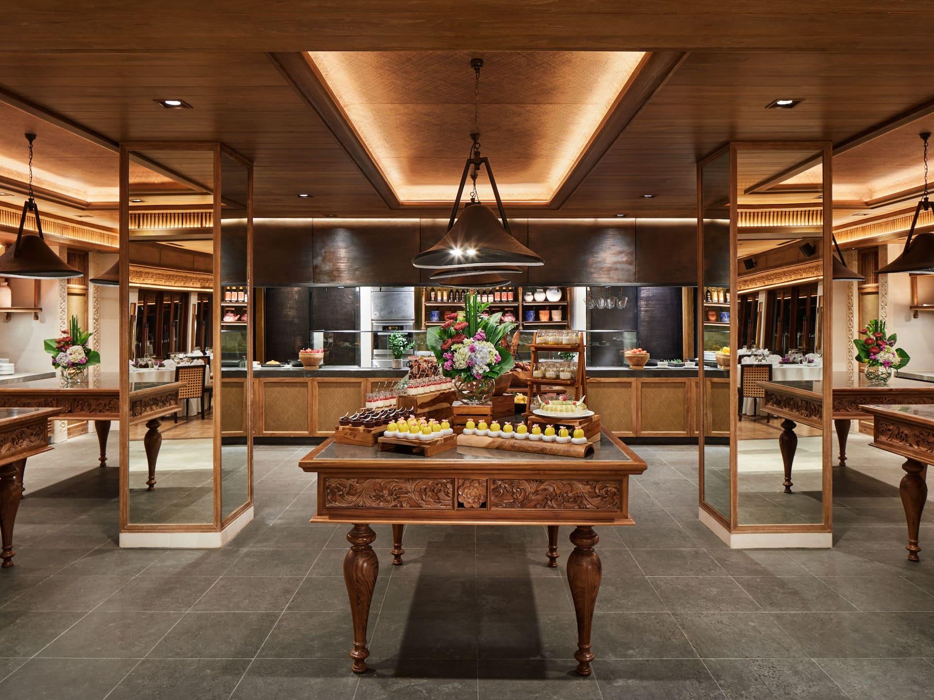 Show Kitchen at Wantilan Ballroom Hyatt Regency Bali