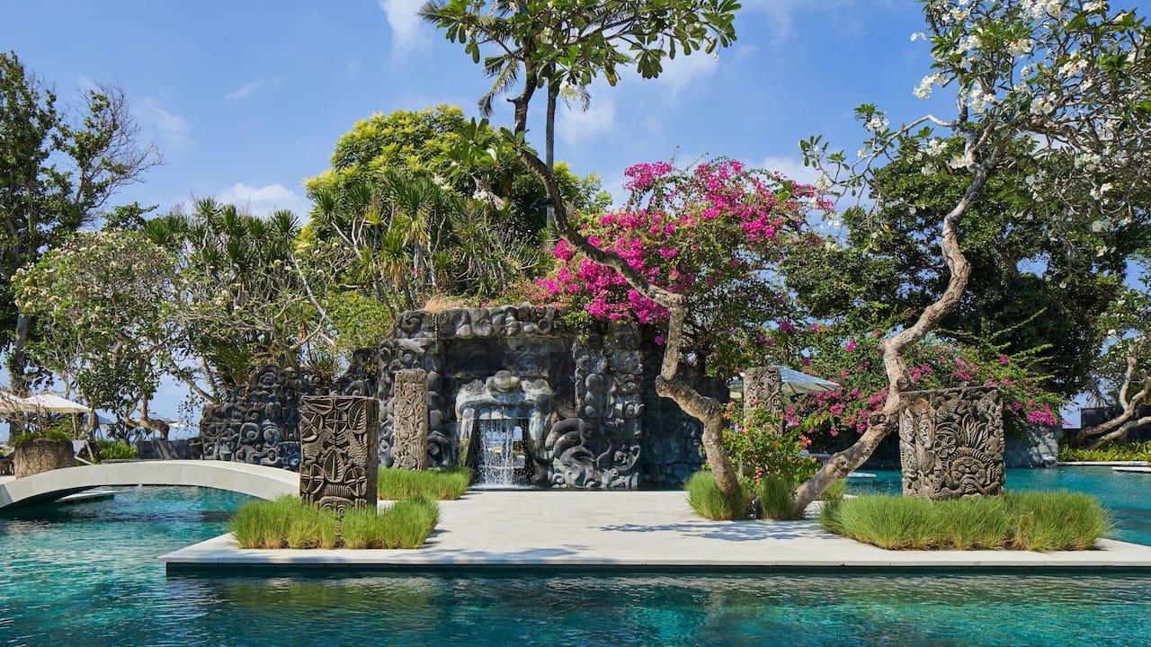 swimming pool Hyatt Regency Bali