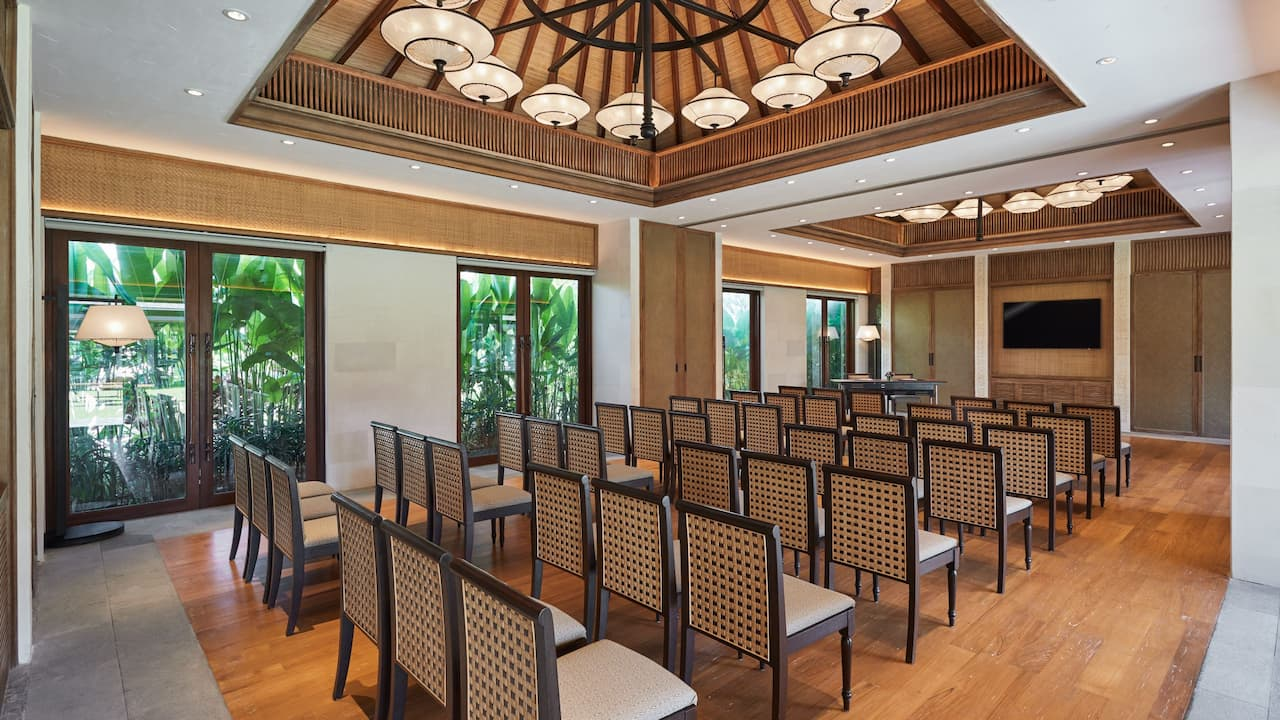 Meeting Rooms for Business Meetings The Hyatt Regency Bali (Sanur, Bali)