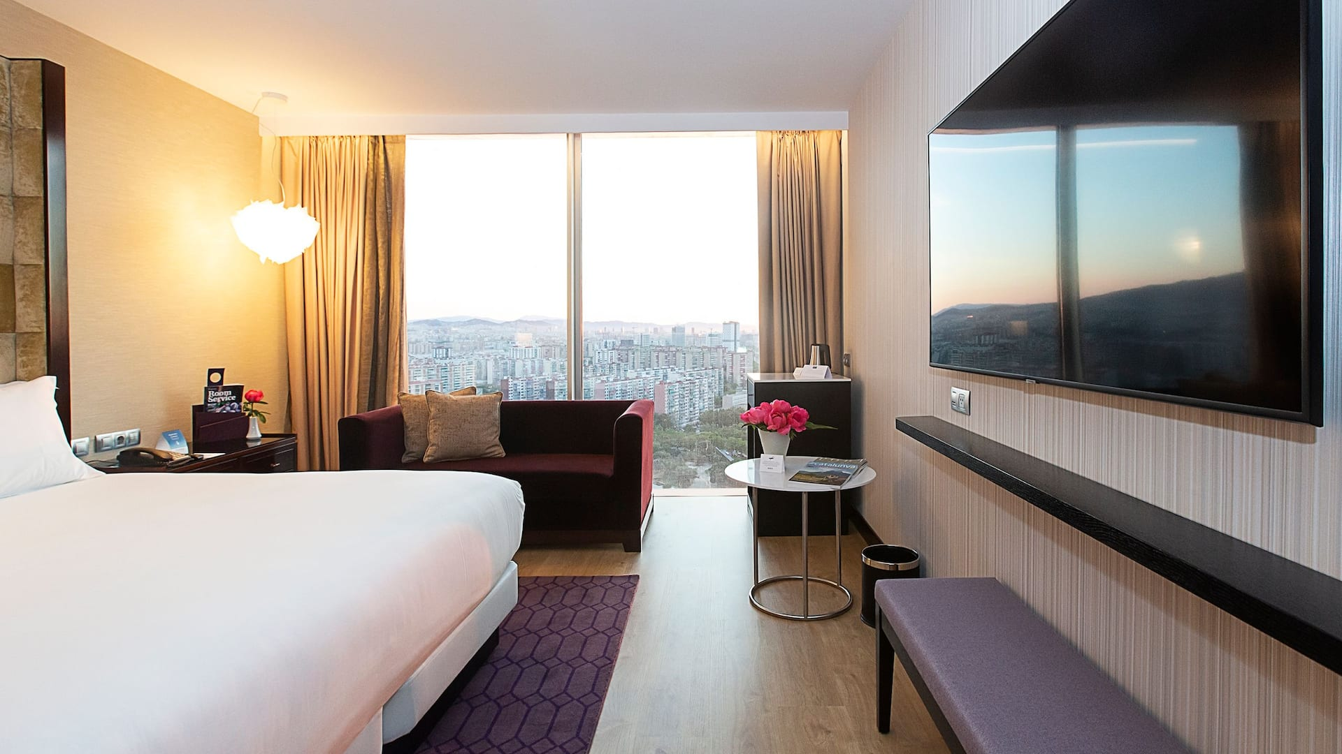 Hyatt Regency Barcelona Tower Room