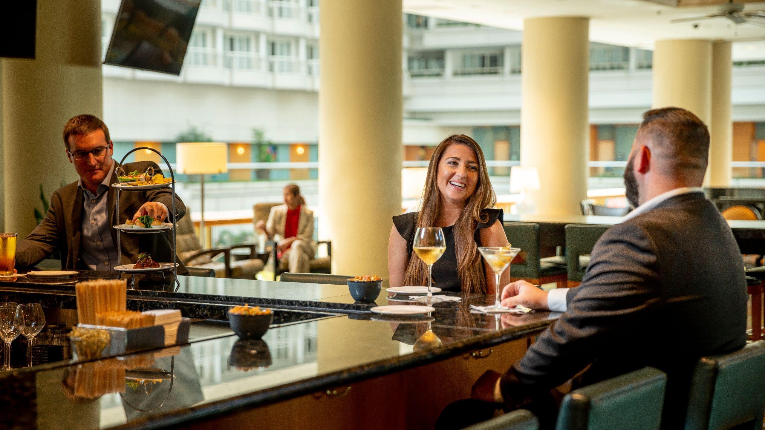 Hemisphere Restaurant Inside Mco Hyatt Regency Orlando