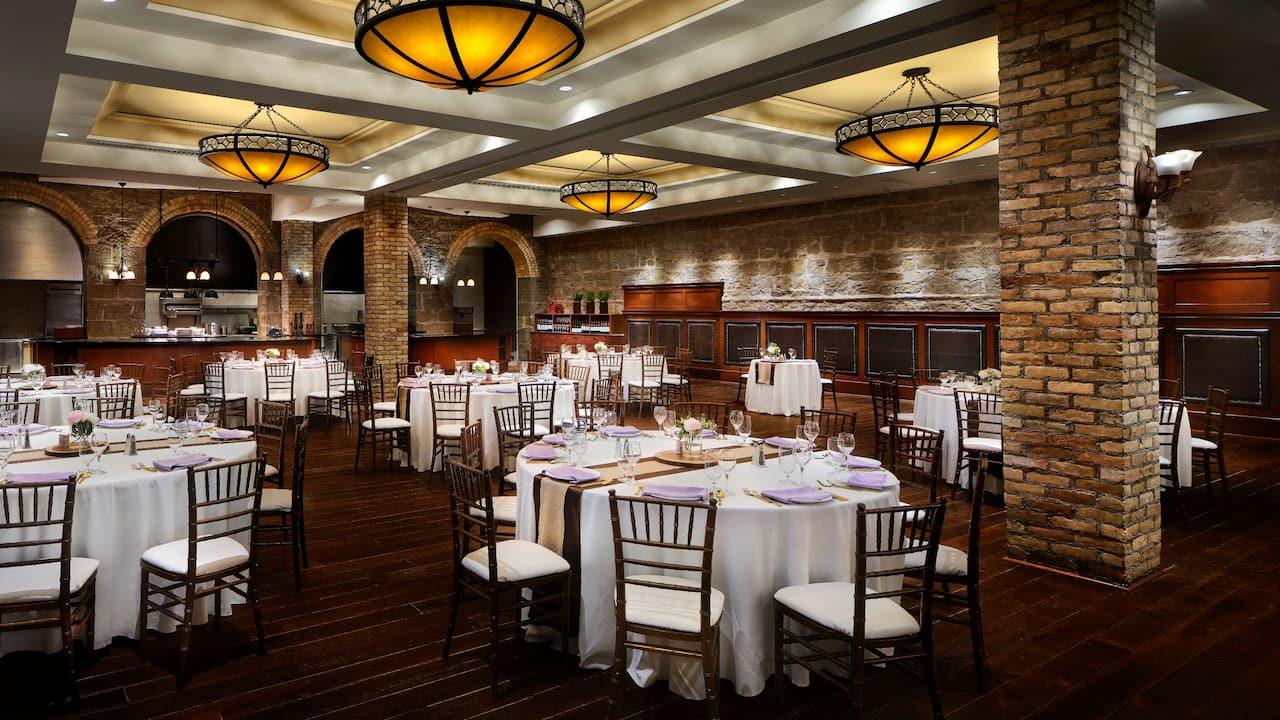 Thomsons Social Hub Wedding Setup