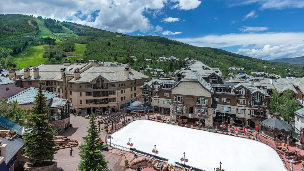 Beaver Creek Village Summer View