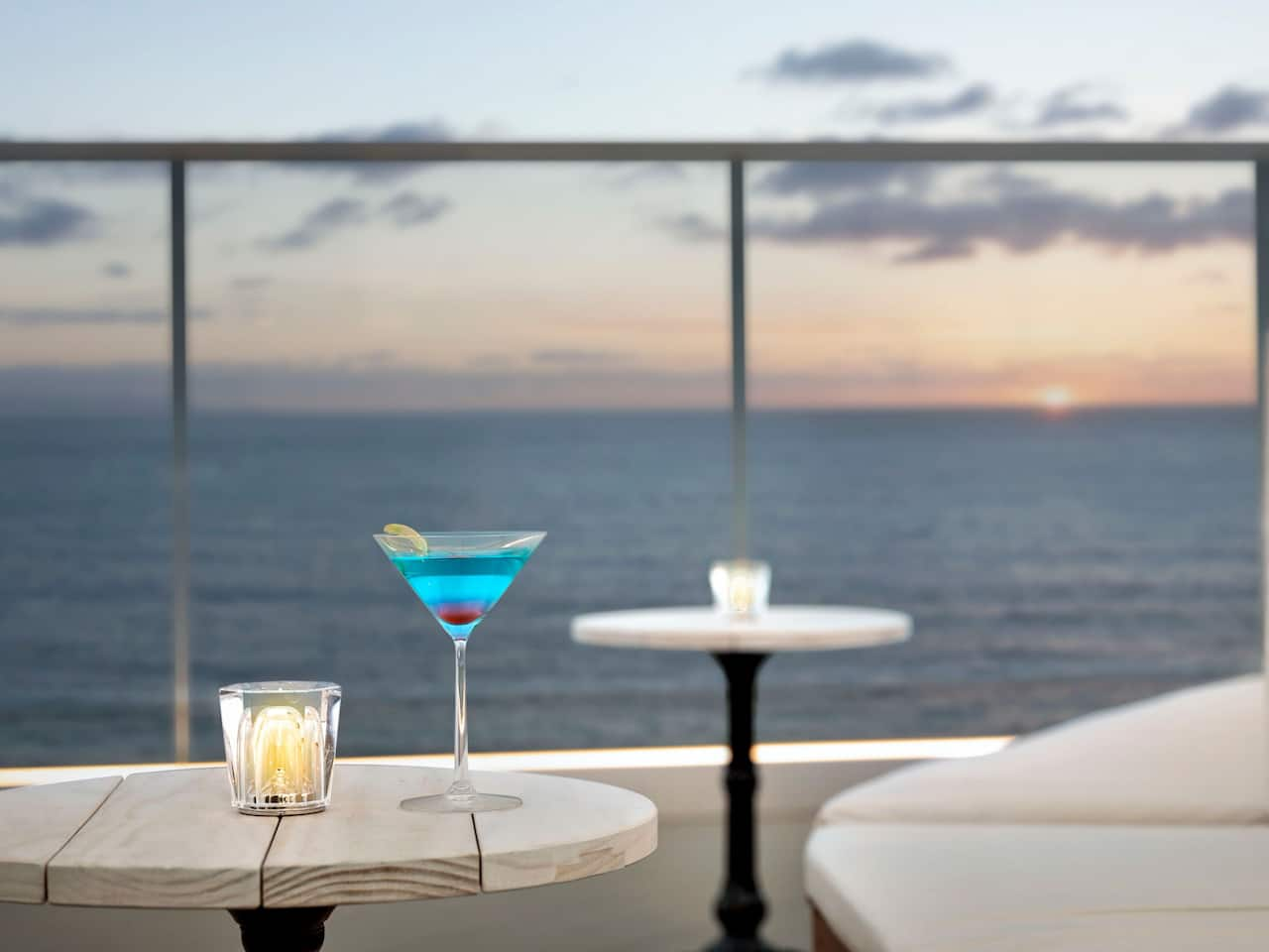 Rooftop Bar Cocktail