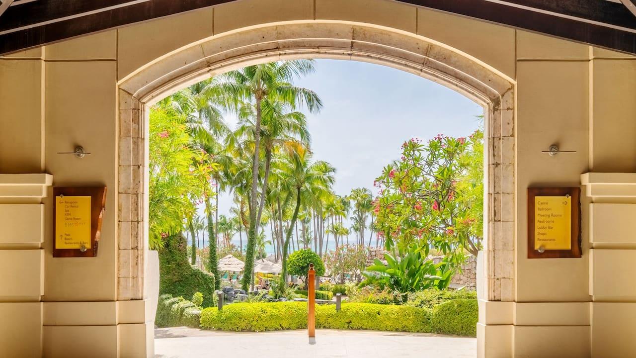Lobby Ocean Views