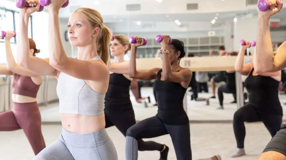 Exhale Barre and Cardio Class