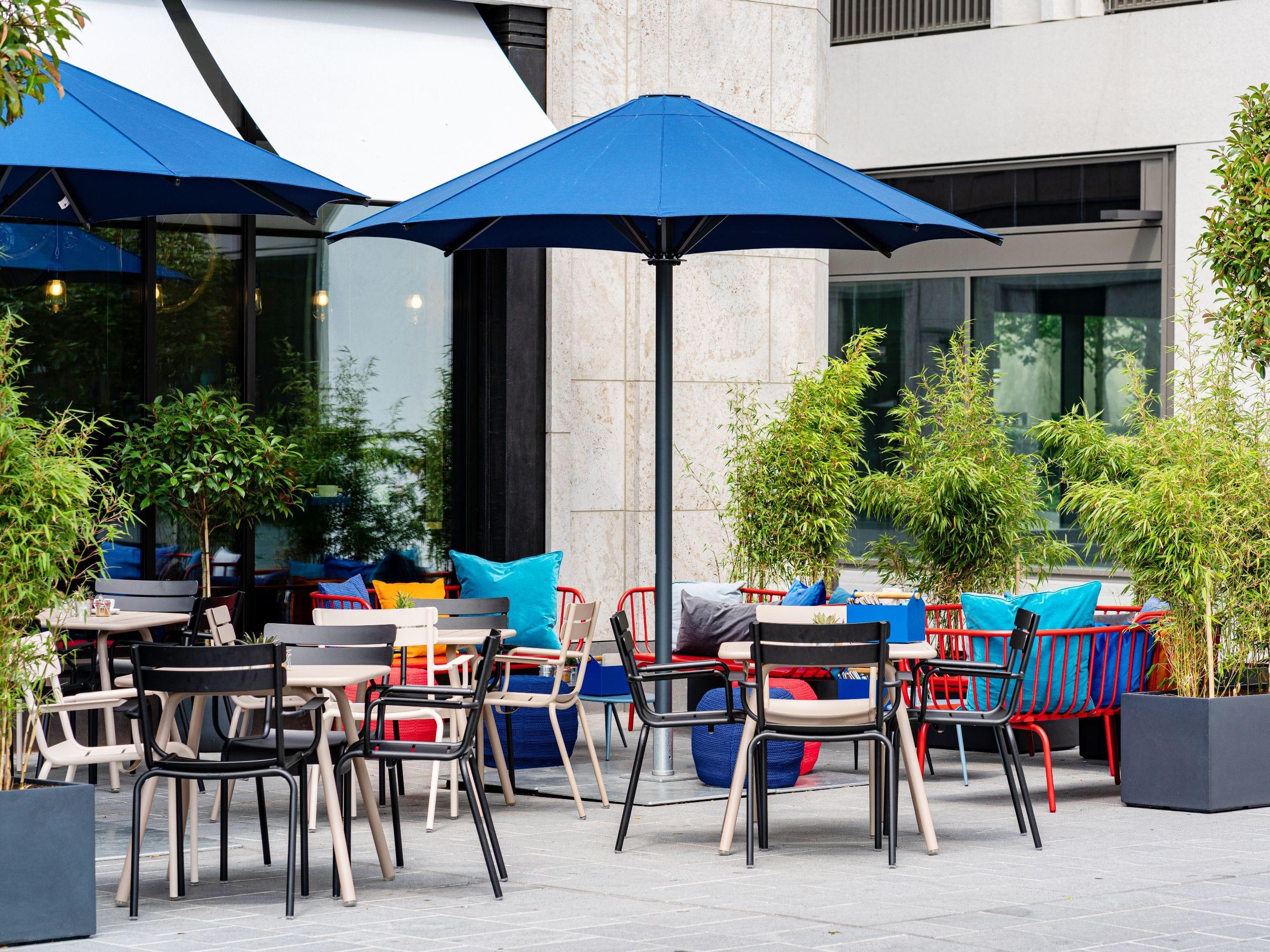 Rooftop Bar In Munich Modern Meat House Steak Restaurant Munich