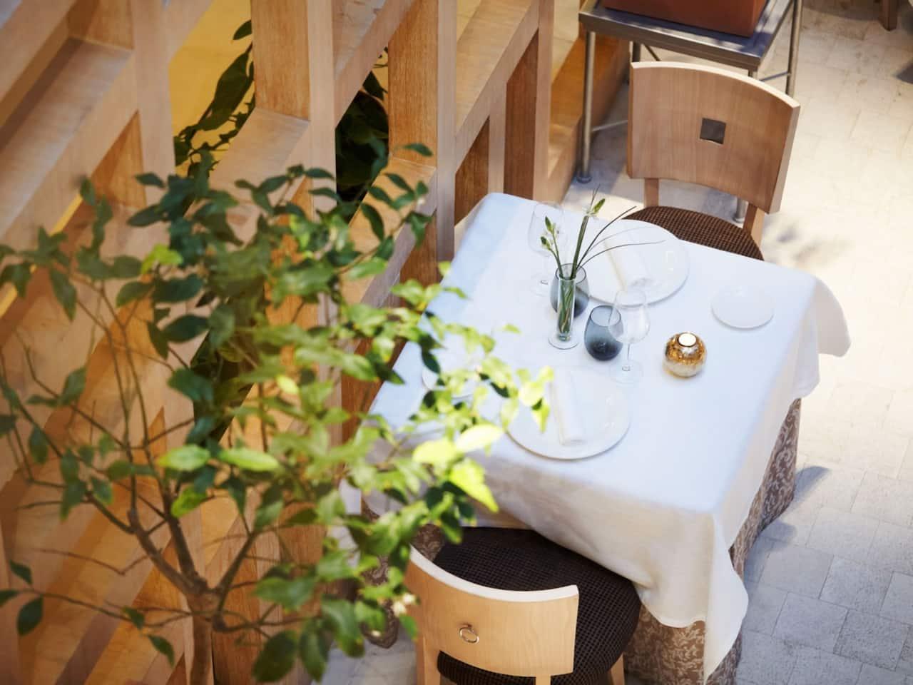 Hyatt Regency Hesperia Madrid Restaurante La Manzana