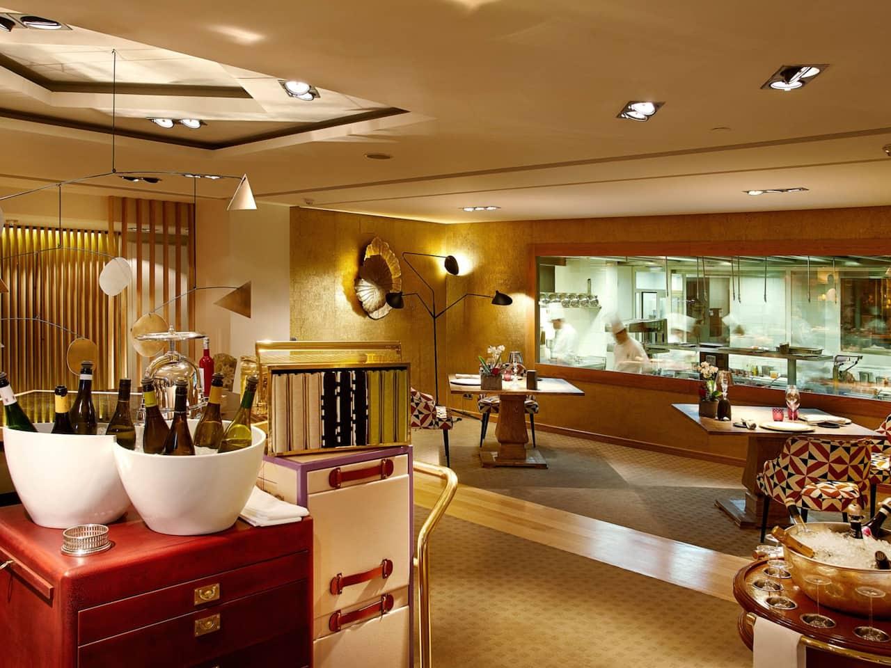 Hyatt Regency Hesperia Madrid Restaurante Santceloni