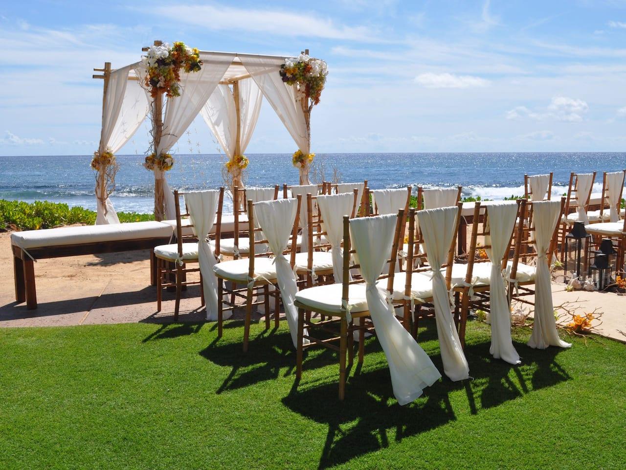 Grand Hyatt Kauai Resort Beach Wedding