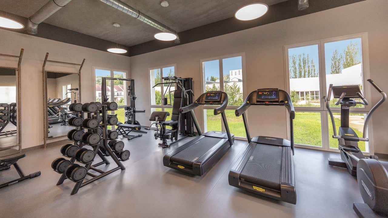 Fitness Center at Hotel Hyatt Regency Chantilly