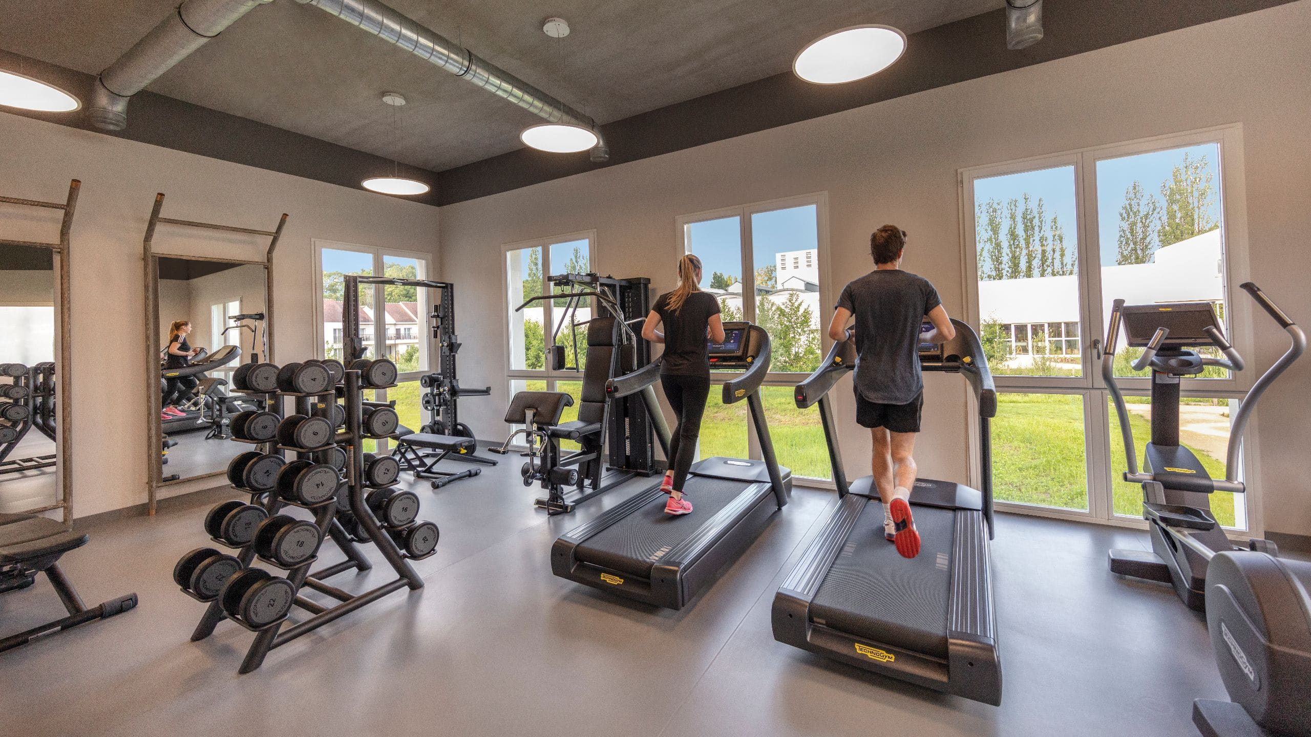 Fitness Center at Hyatt Regency Chantilly - Le Cottage Spa & Wellness