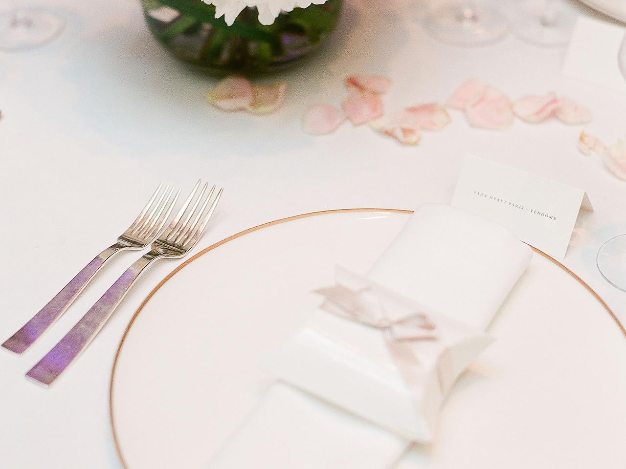 Wedding Venue at Hotel Park Hyatt Paris-Vendôme