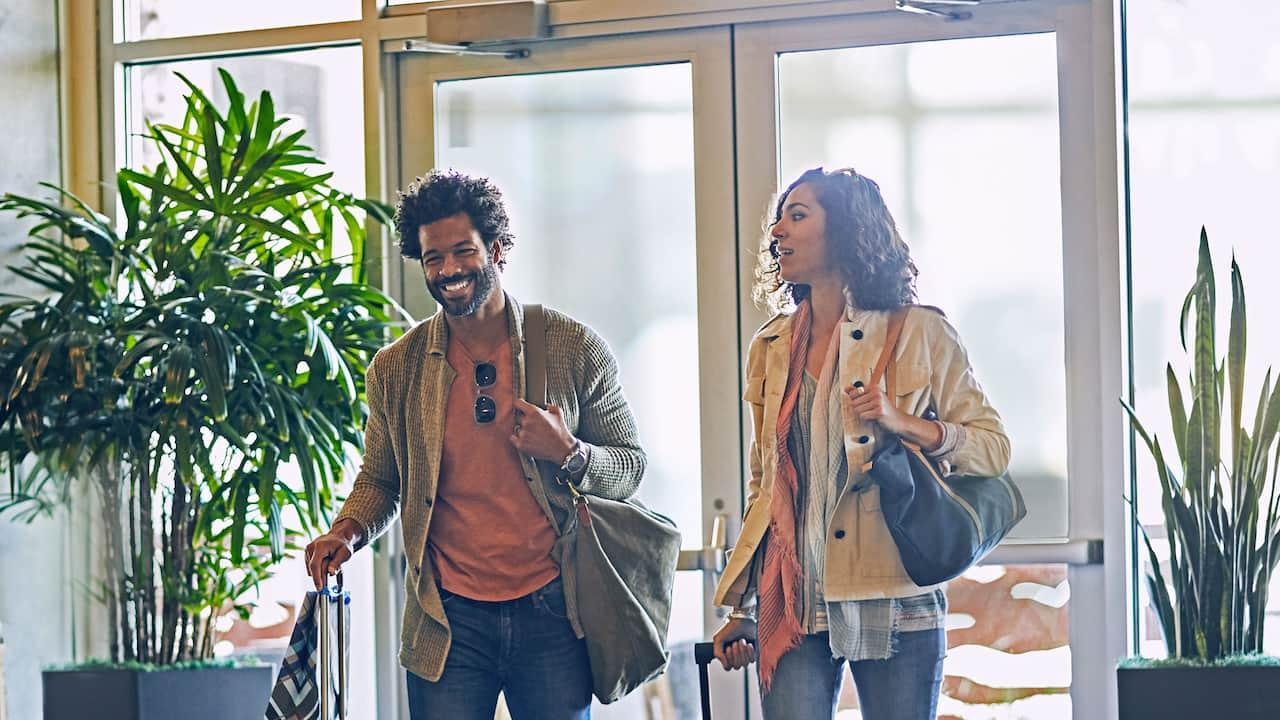 Leisure Travelers Arrival