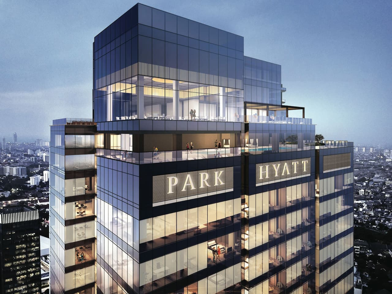 Park Hyatt Jakarta Exterior