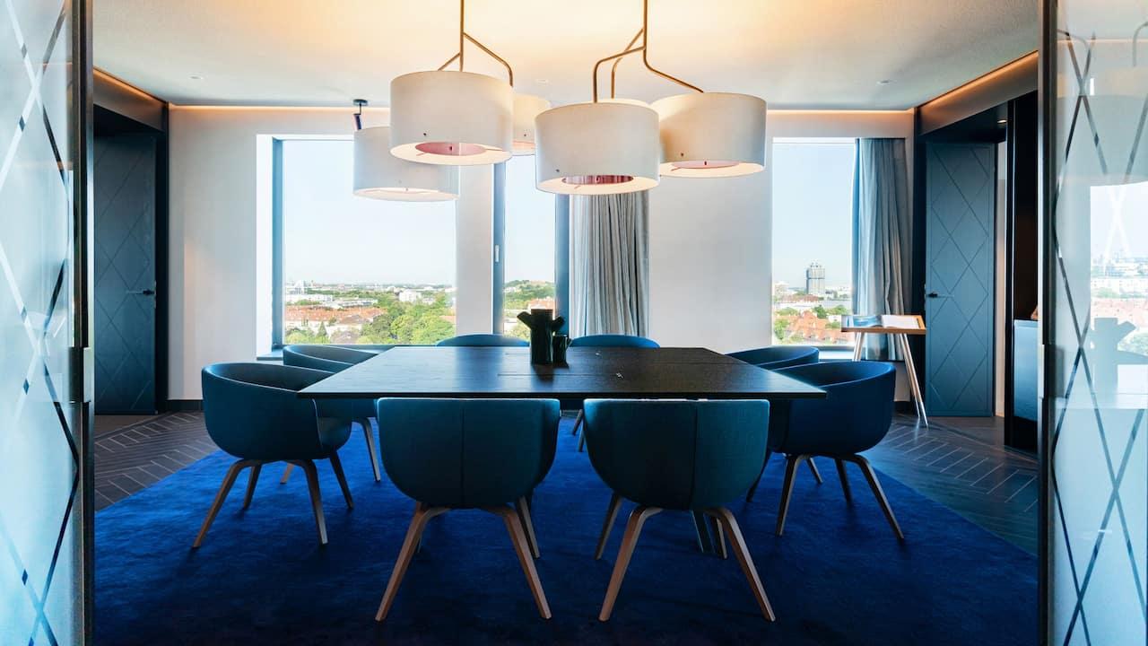 Andaz Munich Schwabinger Tor Penthouse Suite Dining
