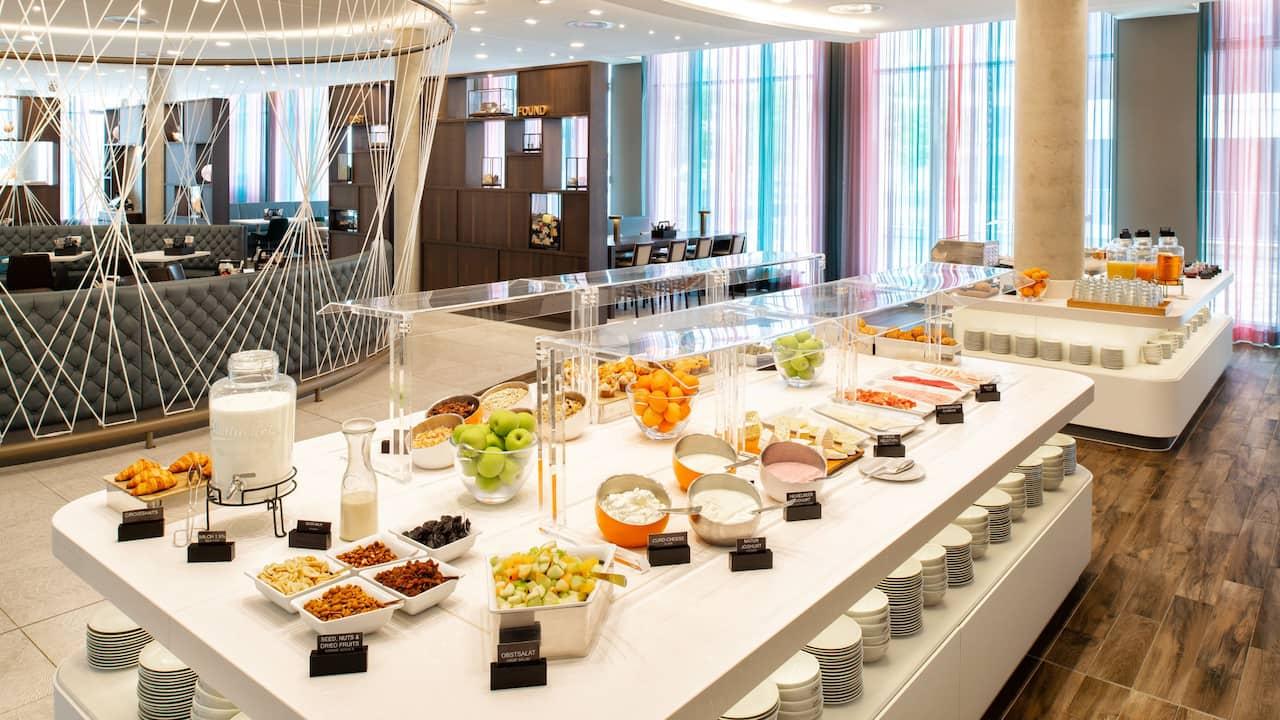 Zoom Restaurant Hyatt Place Frankfurt Airport