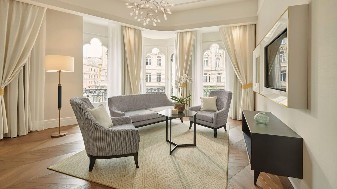Brudern Suite Living Room