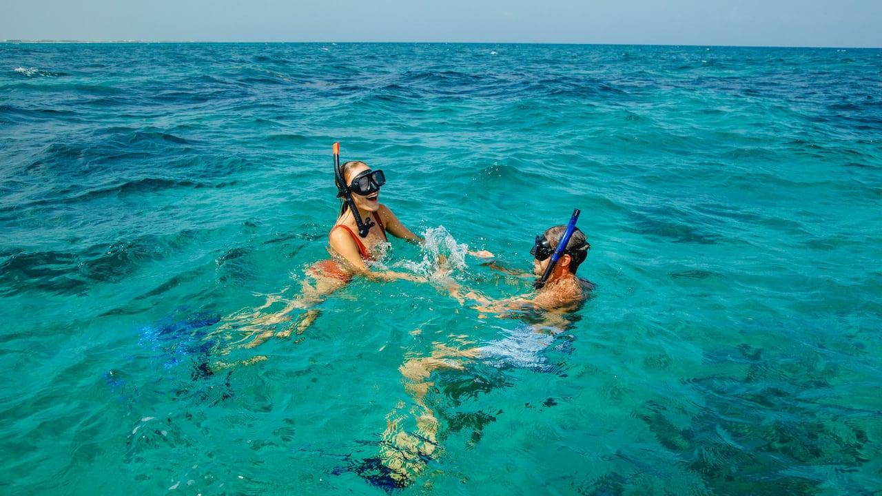 Snorkel Couple