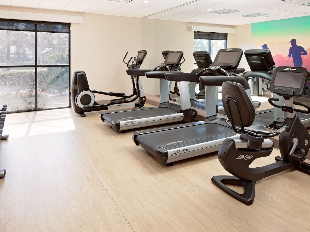 Fitness Center at Hyatt Place Ontario Rancho Cucamonga