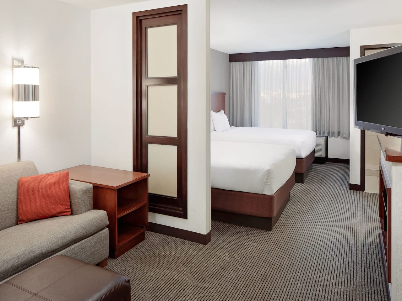 Two Double Guestroom at Hyatt Place Ontario Rancho Cucamonga