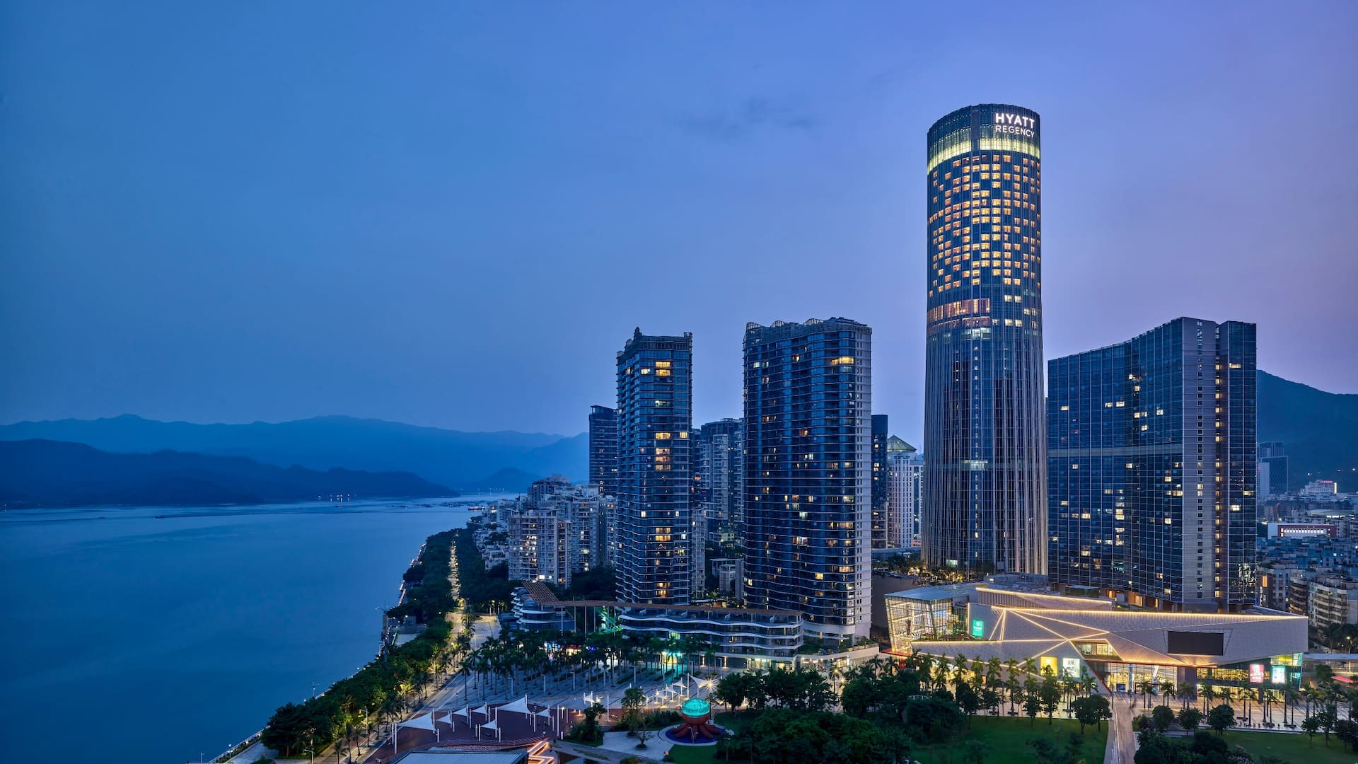 Welcome to Hyatt Regency Shenzhen Yantian