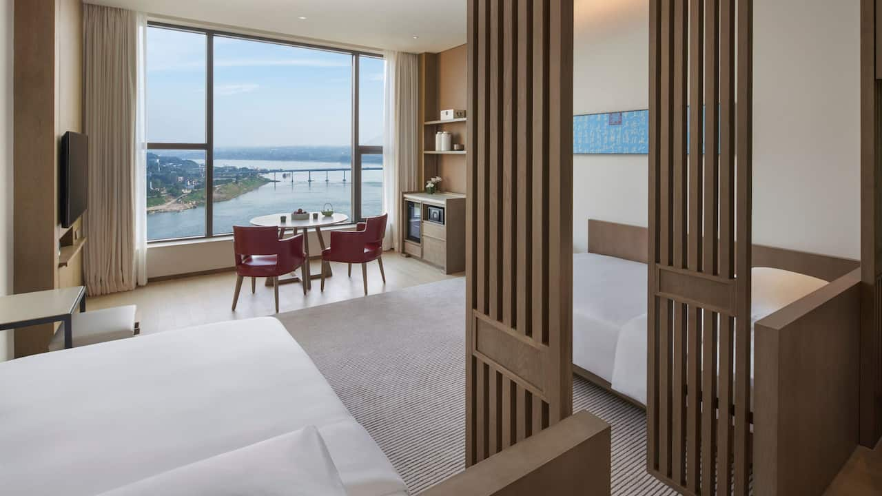 Two Twins Guestroom River View
