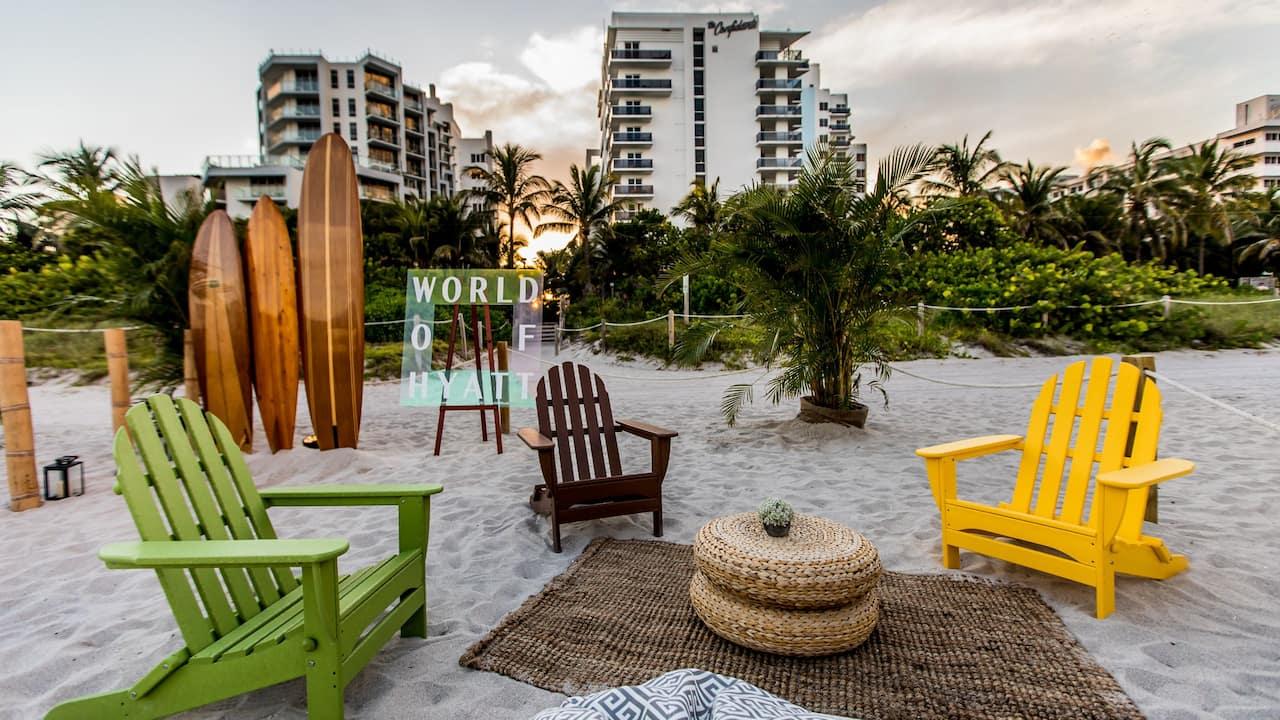 Beach Receptions