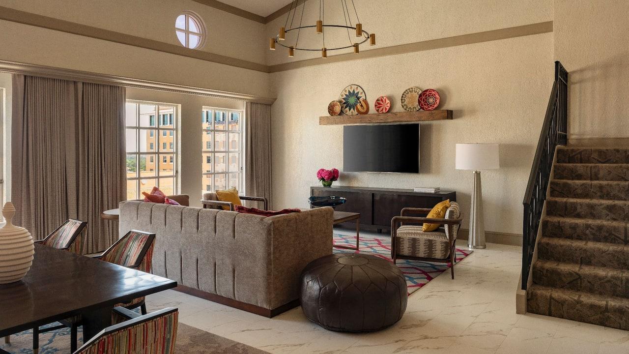 Alhambra Presidential Suite Hyatt Regency Coral Gables