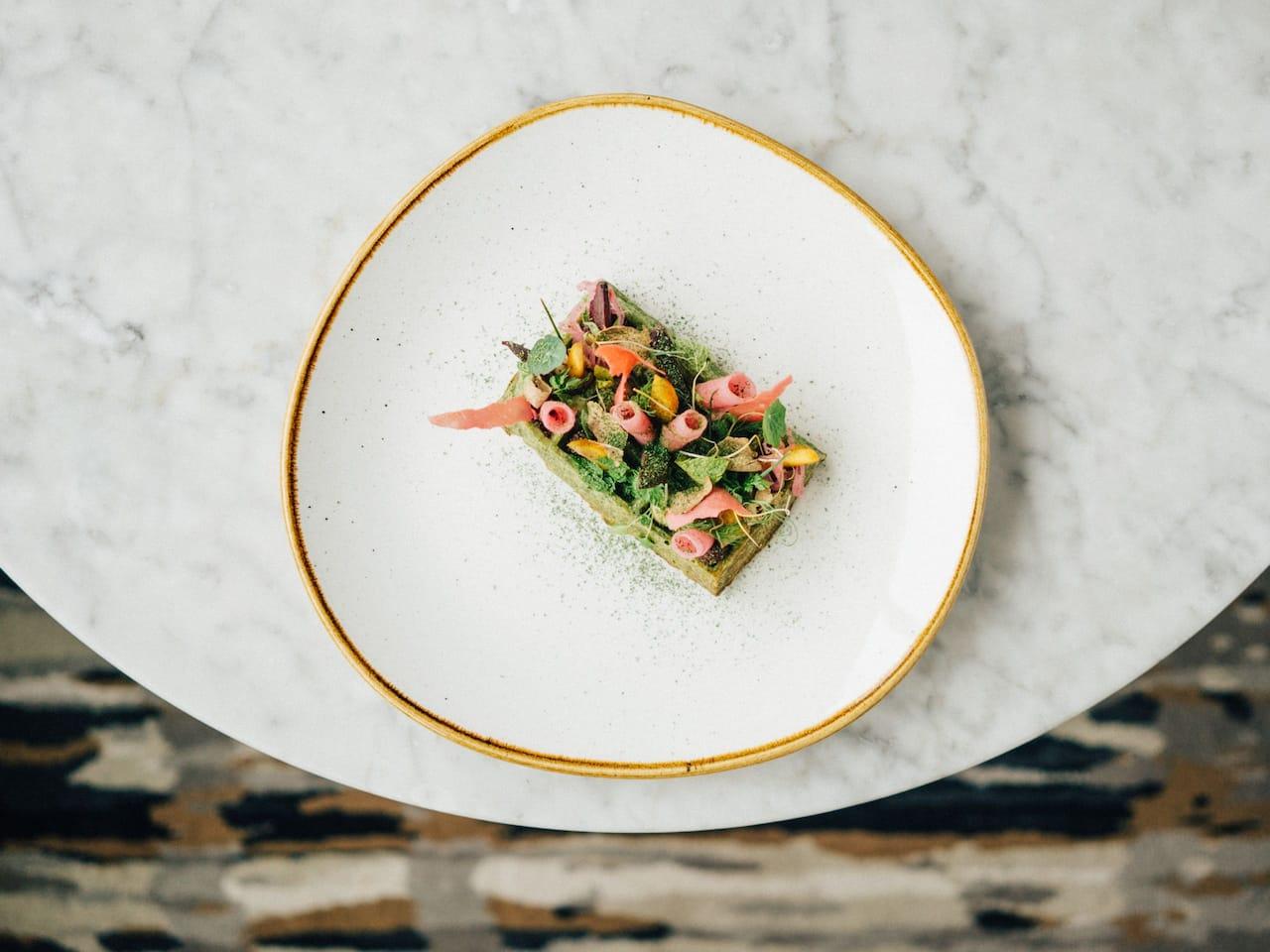Glashaus Vegetation Waffle