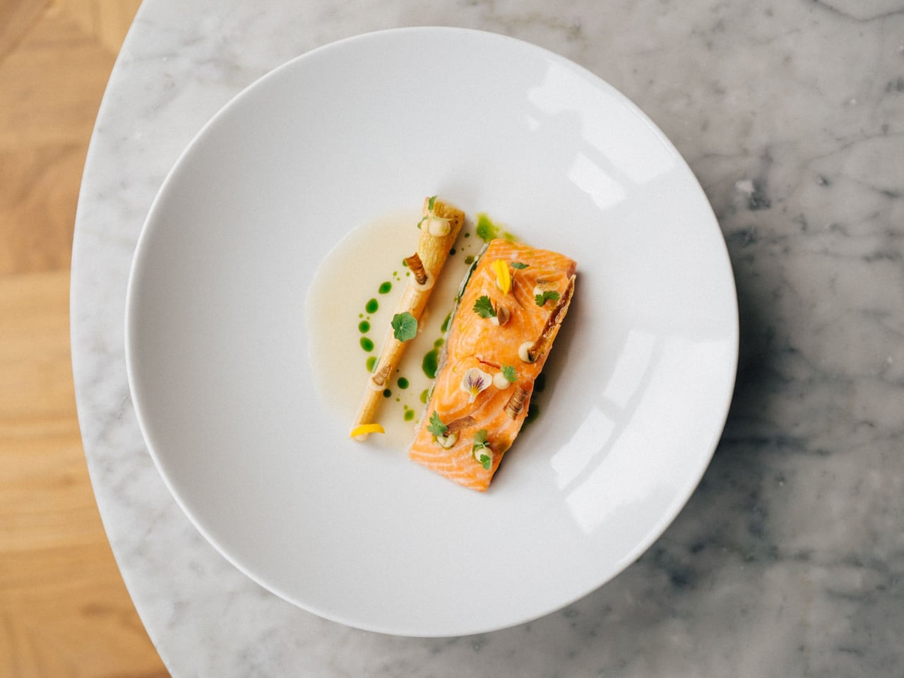 Glashaus Trout Plate