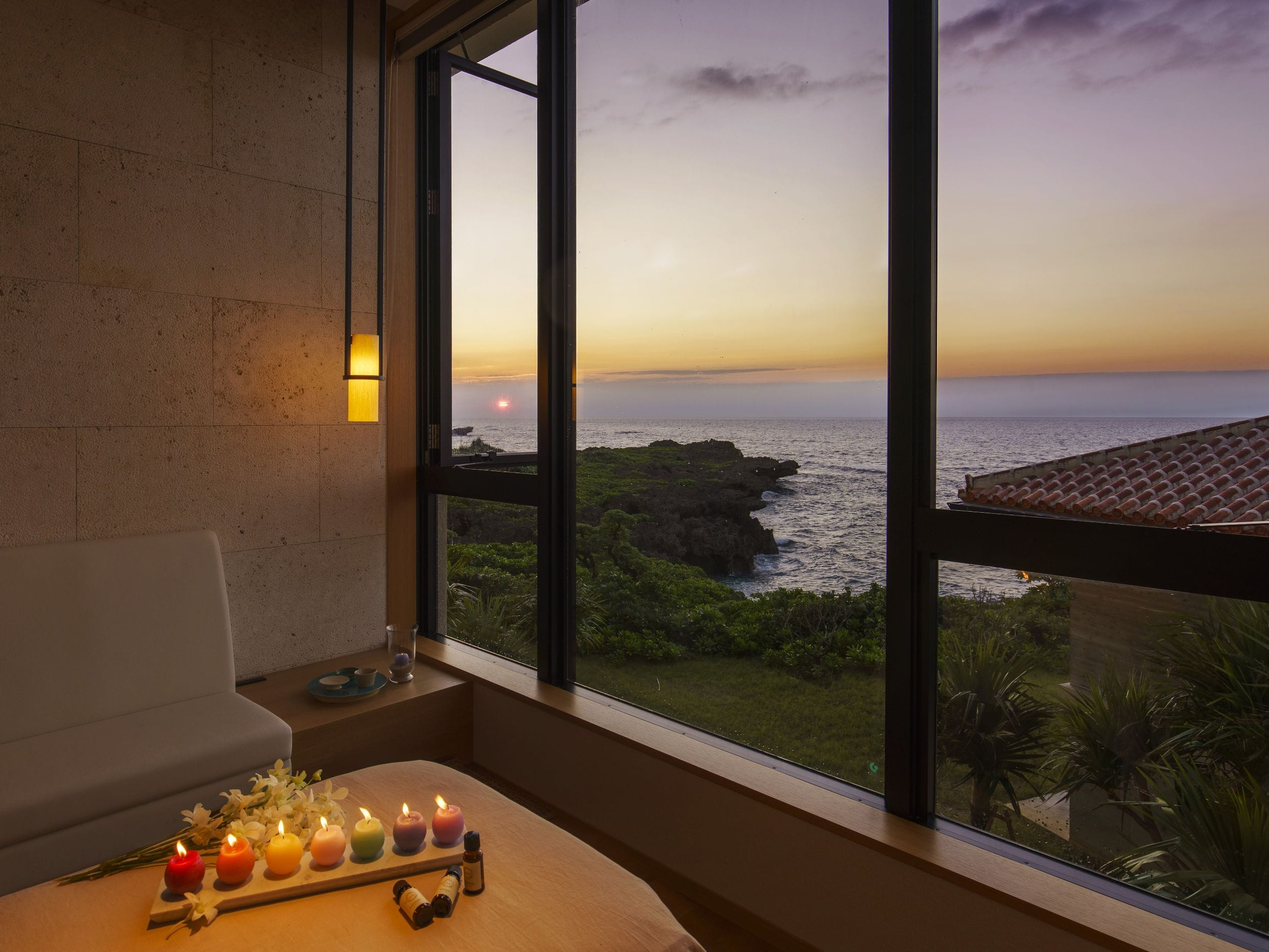 Hyatt Regency Seragaki Island Okinawa Spa hanari overview