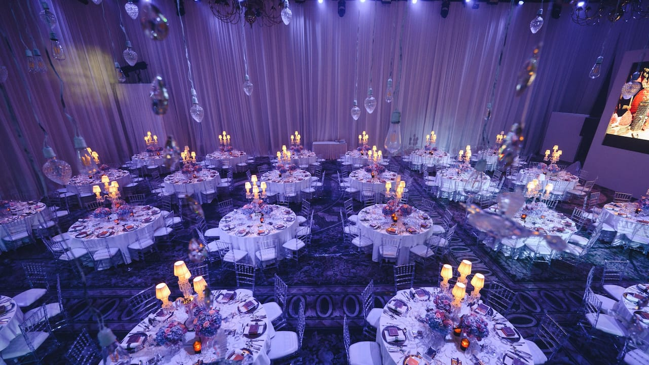 Grand ballroom gala