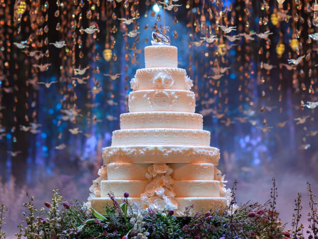 Wedding Cake - Grand Hyatt Erawan Bangkok