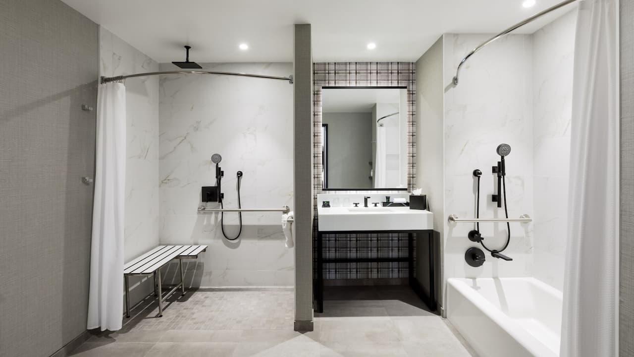 Dual ADA Bath